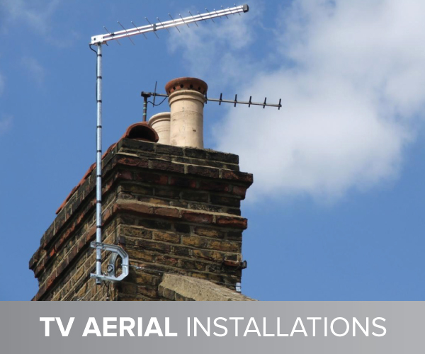 aerial installation in Salford