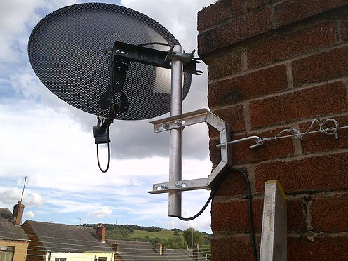 one of our recent projects for freesat installation in salford